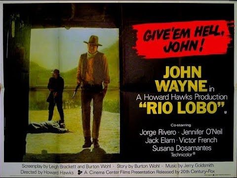 Rio Lobo (1970), faroeste clássico com John Wayne, filme completo em HD ...