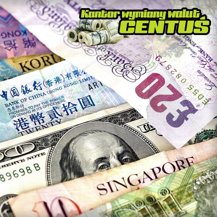 Interesują Państwa światowe waluty? W naszym kantorze będą mogli Państwo wymienić złotówki na wiele zagranicznych walut zawsze po atrakcyjnym kursie :) Zapraszamy! #kantor #wymianawalut #waluty #kantorkraków #kantorcentuś #kantorwkrakowie #kursywalut