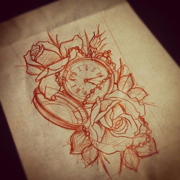 OMG this is what I've been looking for just add some sweet pea and the quote I want!! Boooomm My sleeve I cannot wait