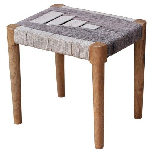 Woven Accent Stool - Threshold™ : Target