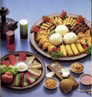 Traditional Indonesian Foods.