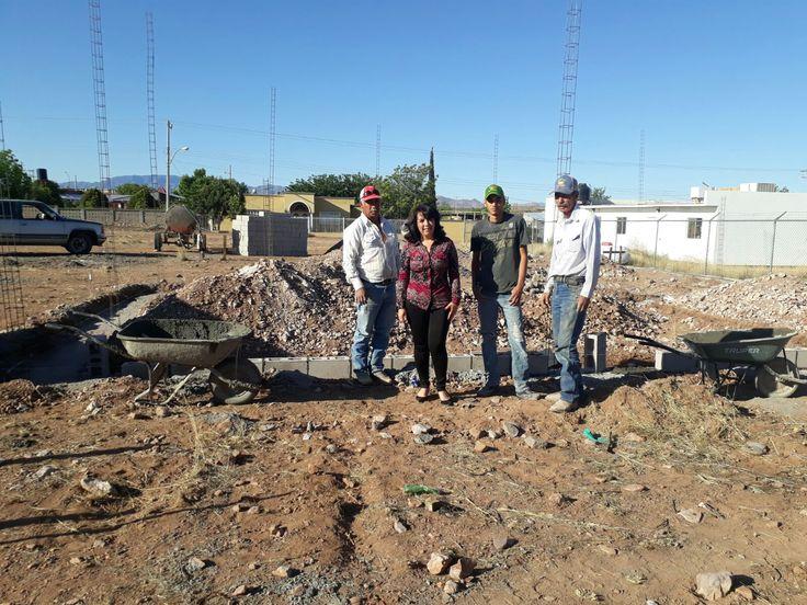 En días pasados la alcaldesa Miriam Caballero Arras, arrancó oficialmente la reubicación de la capilla de velación en la comunidad de Ricardo Flores Magón..