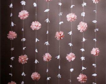 Telón de fondo de cono Ombre rosa polvoriento por KMHallbergDesign