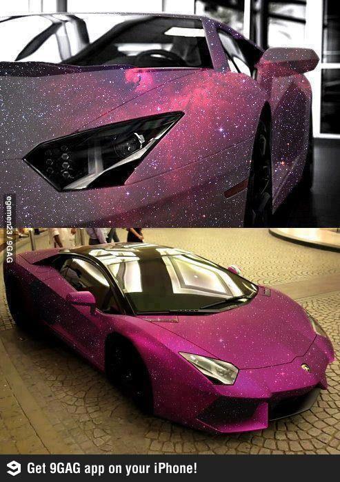 Zengin olmayı istemek için bir sebebim oldu artık - Hubble's lamborghini (car,hubble,lamborghini)