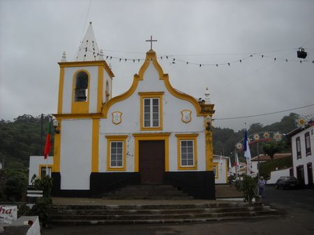 Sao Joao Batista.  Terceira Azores, Portugal  (My ancestor's church...where my parents were married and all their kids Baptized)