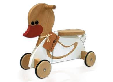 dětské dřevěné odrážedlo kačenka gepetto 1512,-