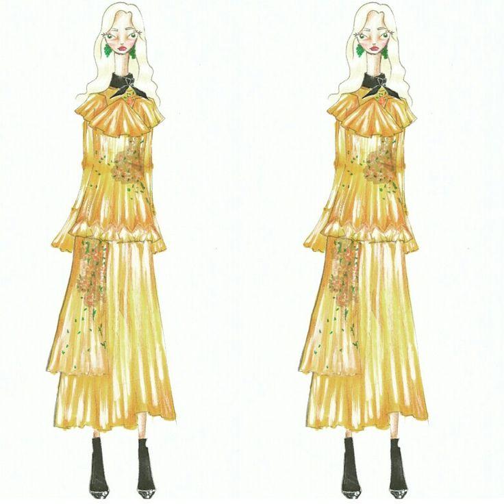 Wonderland (13)  Fashion sketch