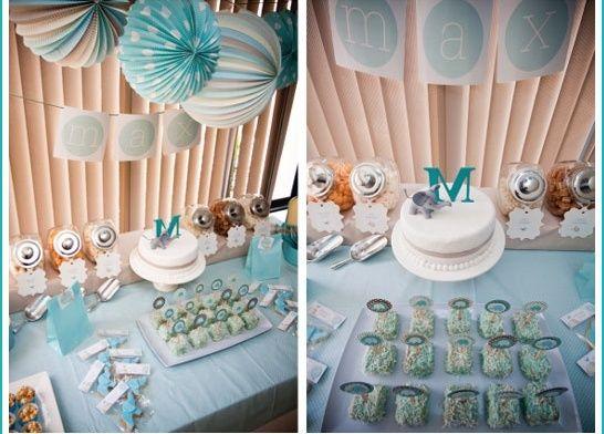Ideas para decorar un baby shower de ni o - Decoracion de baby shower nino ...
