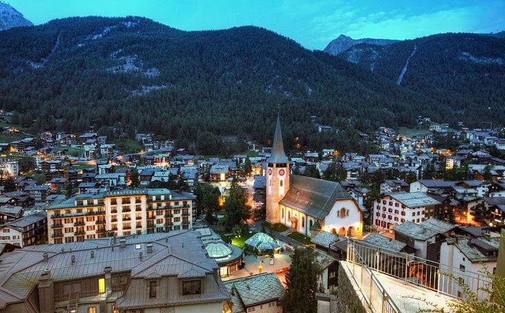 Zermatt in the Evening