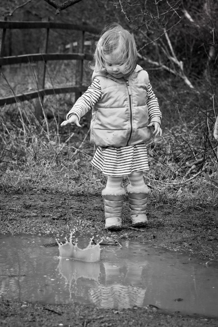 Child making a splash #karensndfran