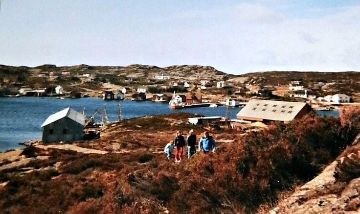 Forland i Sund kommune i 1982. Foto Olav Birkeland