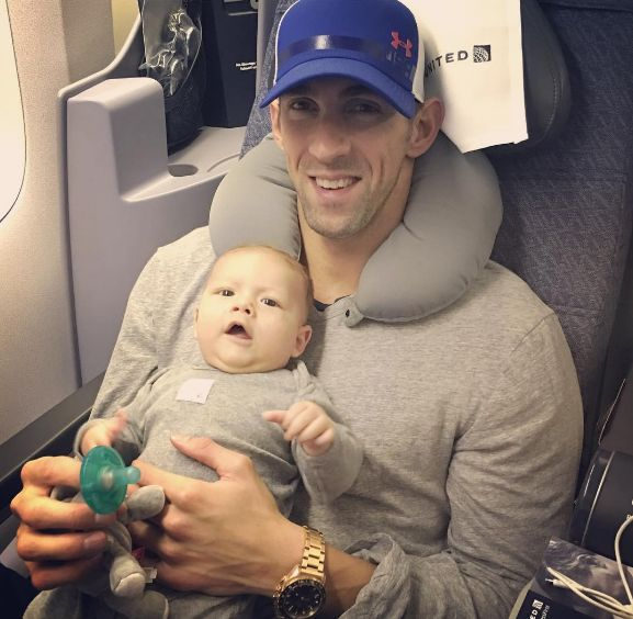 Michael ♡♥ Phelps and Boomer