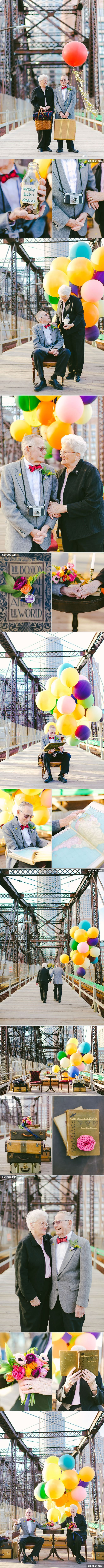 "These Couple Celebrates Their 61st Anniversary With ""Up"" Inspired Photoshoot"