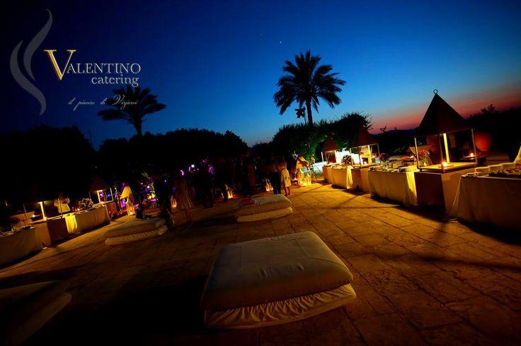"""#Wedding and #Event in #Sicily present:  """"Audrienne & Co"""", un matrimonio da sogno! Catering and Banqueting: Valentino Catering Location: Castello Xirumi Serravalle"""