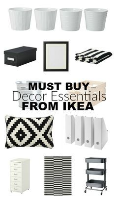 YOU WON'T WANT TO MISS THIS LIST!!! Must buy (afforadable!) decor essentials from IKEA. - Littlehouseoffour.com