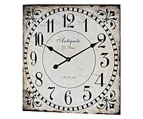 Reloj de pared Argenton – cuadrado