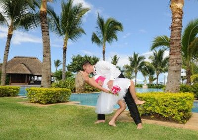 wedding on Mauritius