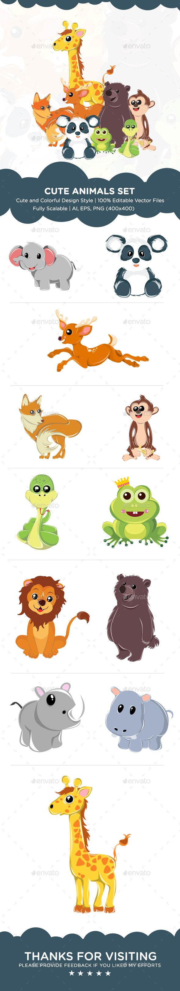 best 25 cute cartoon animals ideas on pinterest cute cartoon