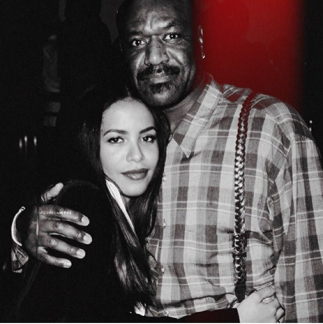 Aaliyah and Delroy Lindo
