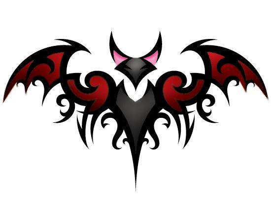 Bat Tattoo Color by ~RagDollMurderer on deviantART