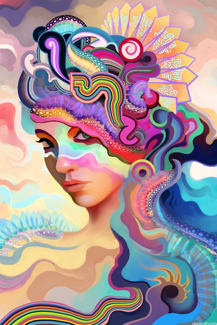 Color art digital - Digital Art By Alex Tooth Ego Alterego