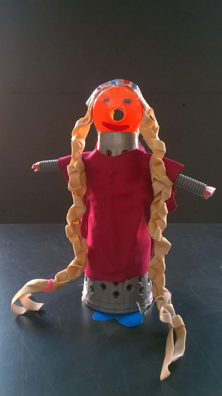 Raperonzolo - progetto di bimba di 5 anni