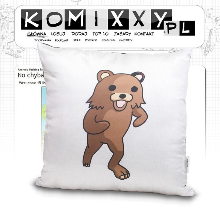Pedobear pillow