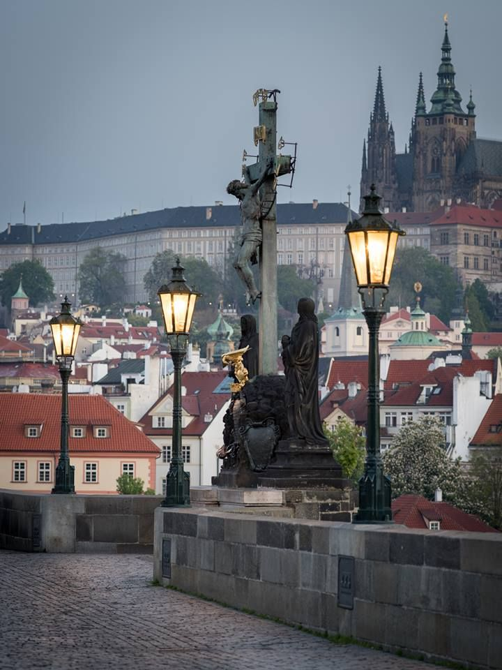 Charles Bridge and Prague Castle, Prague, Czechia