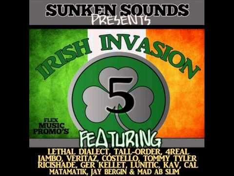 The Irish Invasion Volume 5 Mixtape ft Various Artists By FlexMusicPromo...