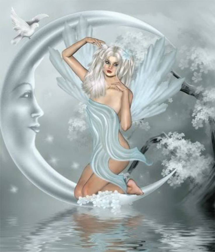 .Favorite Things, Fantasy Art, Image, Angels, Glitter, Winter Fairies, Gif, Fairies Pictures, Moon Fairies