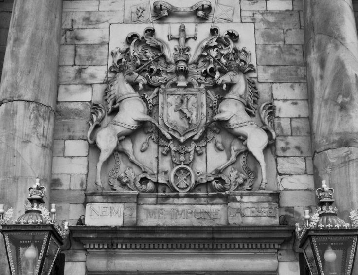 Coat of arms at Holyrood Abbey
