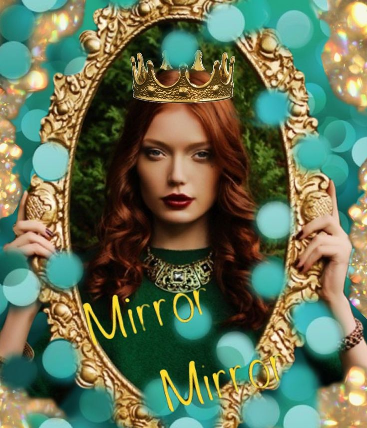 Mirror, Mirror... - made by Donna Pfister with Bazaart #collage