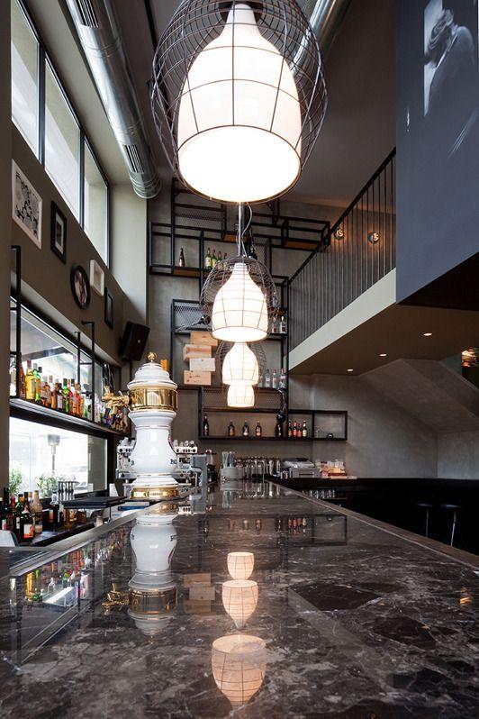 212 best Bar Design images on Pinterest | Coffee shops, Commercial ...
