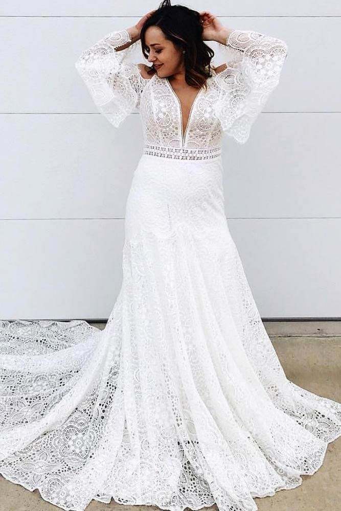 Plus Size Wedding Dresses For The Most Beautiful And Curvy Brides Plus Size Wedding Gowns Trendy Wedding Dresses Wedding Dresses Simple