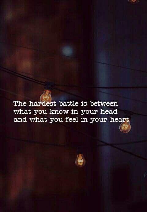 Very true...a constant battle