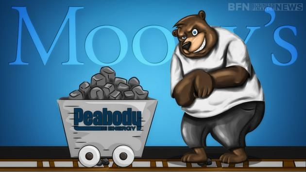 Moody's Investor Services holds a grim forecast for the coal industry after the EBITDA for 2016 is expected to be 10% lesser year on year while Peabody Energy Corporation (NYSE:BTU) proves the struggle is real after tumbling 13.6%.