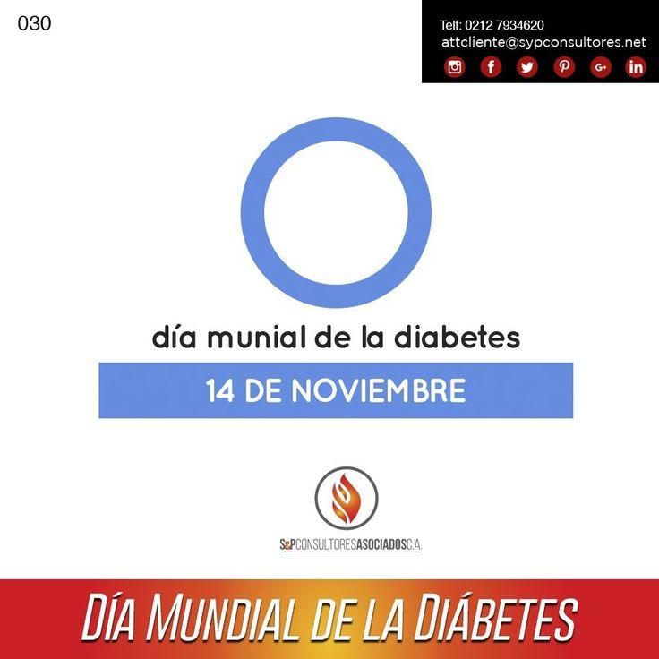 #14Nov #Efemerides Día Mundial de la La Diabetes. La #diabetes se produce cuando el páncreas no produce suficiente de una hormona llamada insulina, o cuando el cuerpo no puede utilizar eficazmente la que produce.La insulina regula el azúcar en la sangre, aportando la energía necesaria para vivir; si no puede llegar a las células para convertirse en energía, el azúcar se acumula en la sangre hasta alcanzar niveles perjudiciales. #SyP Cada vez más cerca de ti !!! #instagram https://goo.g