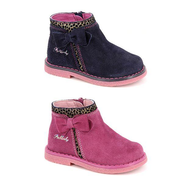 Pablosky. Botín de estilo casual para niñas con estampado de leopardo y lazo. Confeccionado en piel natural para mayor comodidad y plantilla inTech absorbente. Dispone de un cierre de cremallera y suela de goma adherente Airbag System. Además, cuenta con protector interior en puntera y talón. Disponible en dos colores, marino y rosa. ¡Para las niñas más fashion! #Boots #Botas #CalzadoInfantil #StepEasy #Pablosky #BootsPablosky #BotasPablosky