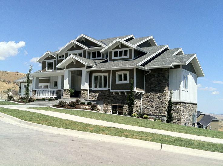 Utah parade homes the big reveal utah parade of homes for House plans utah craftsman