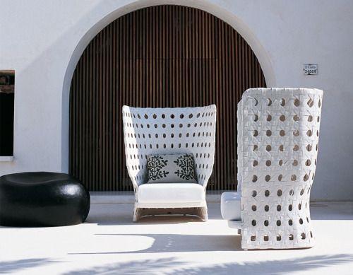 B&B Italia Modern Outdoor Furniture Collection by PatriciaUrquiola - Style Estate -