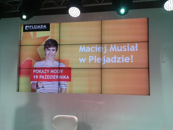 Plejada Pełna Inspiracji - Macieł Musiał w Plejadzie!