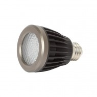 Buy LED 7W PAR20 Dimmable  from LED Canada, for indoors and out, features long life Cree LED chipset, available in a white or bronzed. http://www.ledcanada.com/7watt-par20-dimmable/