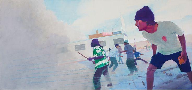 A gyógyulás ígérete / The Promise of Recovery olaj, vászon / oil on canvas, 90…