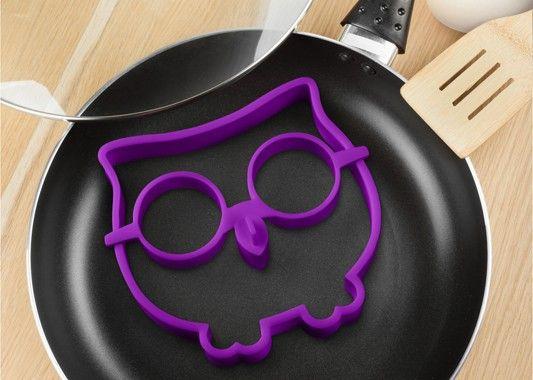 Foremka sowa - pomysł na ciekawe śniadanie :)  #sowa #foremka #sniadanie #kuchnia #pomysł #jajka #sprzedam