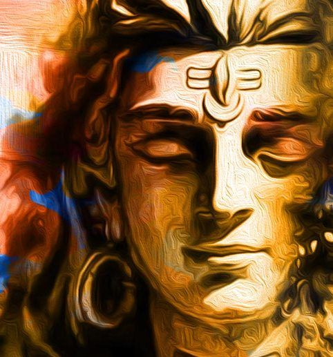 In creating the elephant-headed Ganesha, Shiva stops being the world-renouncing hermit and transforms into Shankara, the world-affirming householder