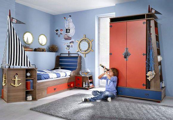 Интерьер комнаты мальчика-подростка. Идеи, фотографии