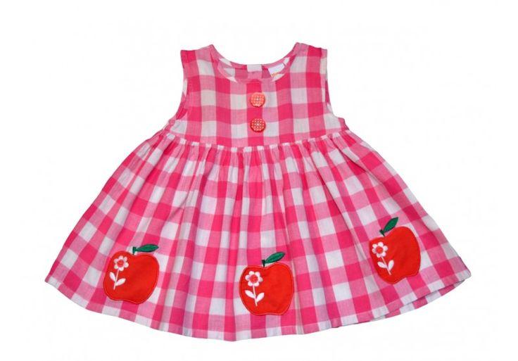 Minden kislány rendkívül bájos ebben a nyári ruhában!  http://www.ruhakpalotaja.hu/webshop/almas-ruha-p12192.html