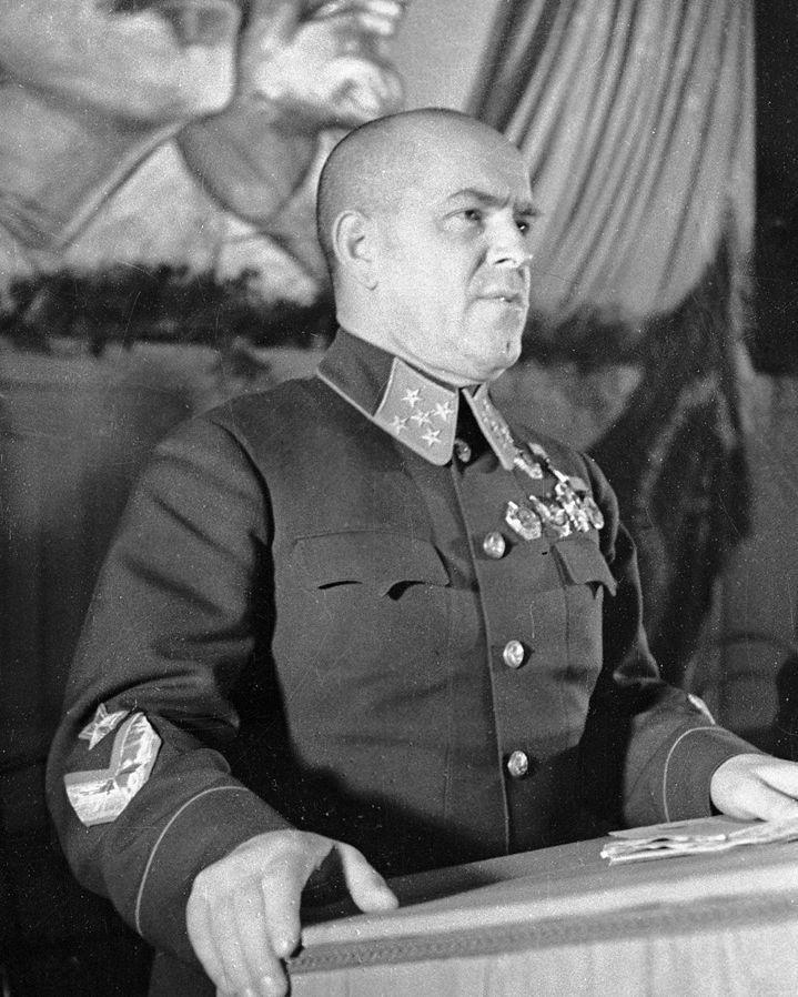 Маршал Жуков Г. К., сентябрь 1941г / Marshal Zhukov G. September 1941