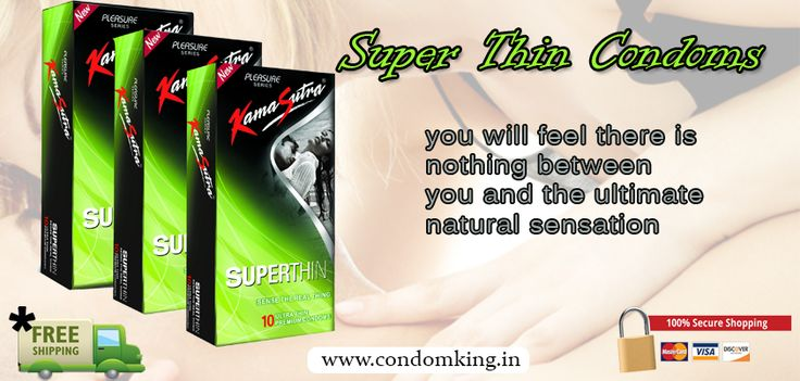 KamaSutra SuperThin condoms are so thin you will feel there is nothing between you and the ultimate natural sensation. visit @ www.condomking.in
