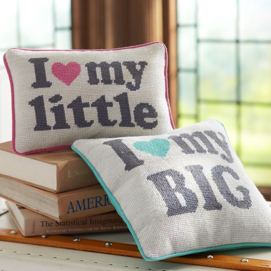 Sorority Sister Pillow | PBteen - where was this when I needed it?  So cute